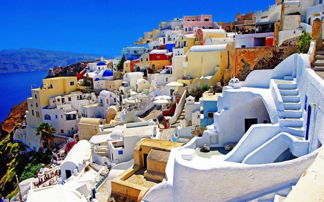 Oia tour Santorini