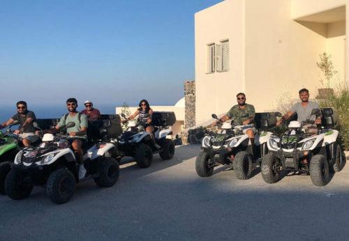 Santorini ATV Tour