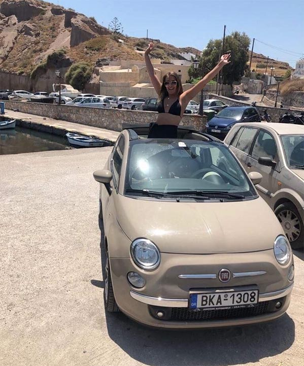 Rent a Car in Santorini