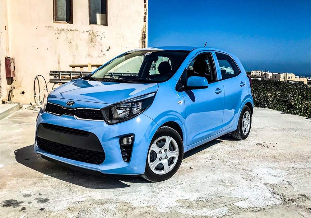 Rent a Car Santorini - Blue Island Rental