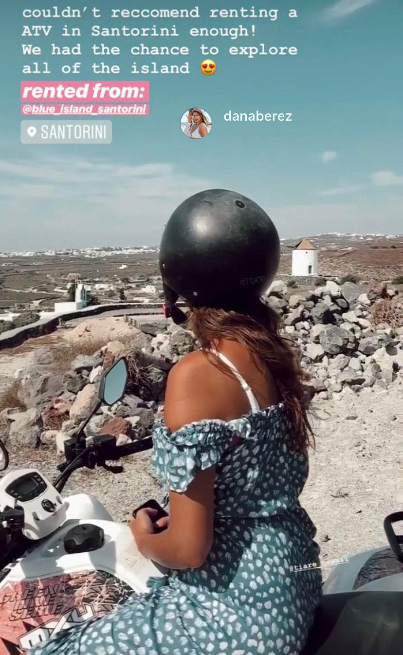 Atv Bike Rental Santorini