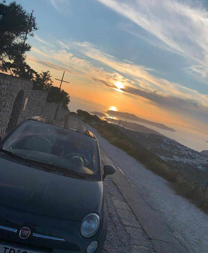 Santorini Car Rental - Blue Island Rental