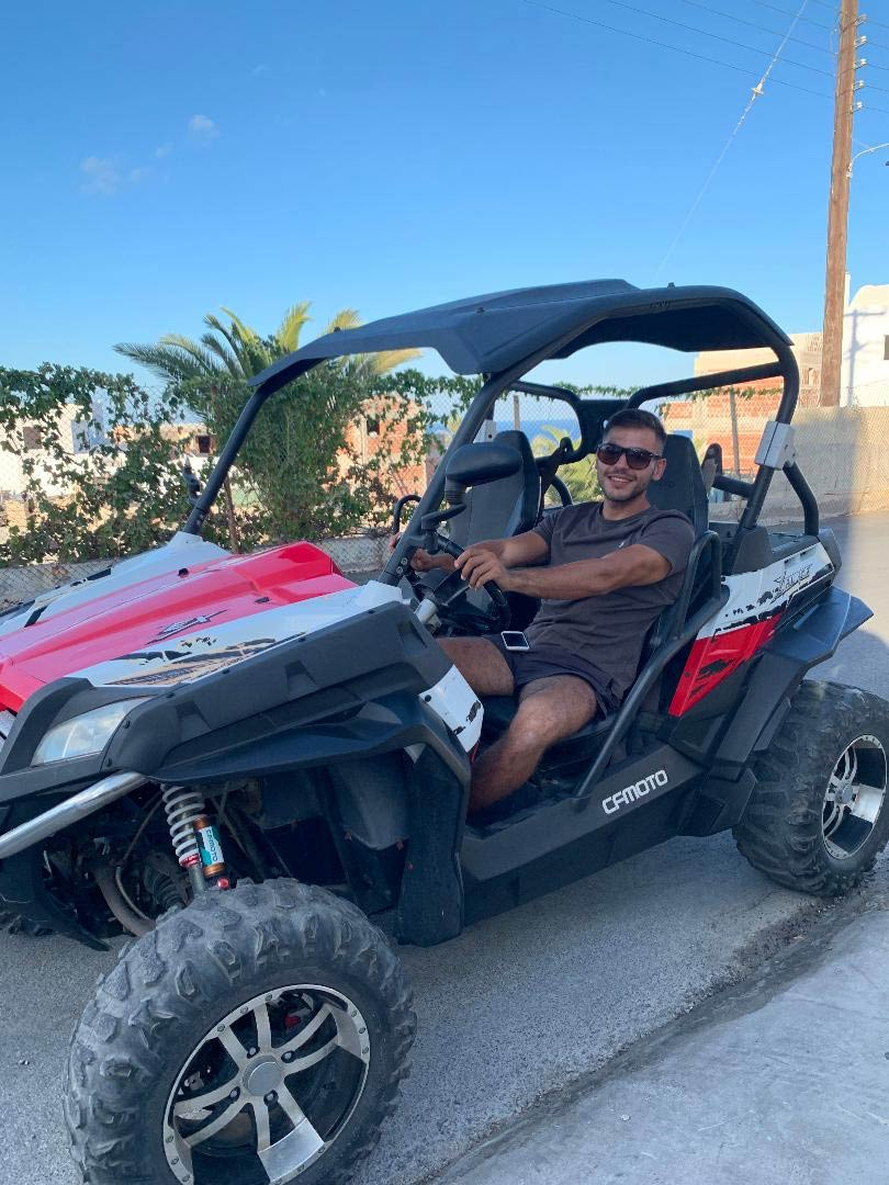 Hire a Buggy in Santorini