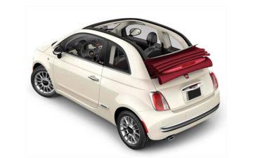 Rent Fiat 500C CABRIO