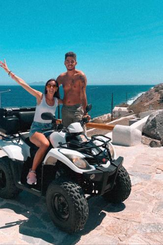 ATV Rental Santorini - Caldera View