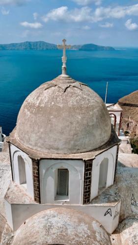 Dome Church Santorini
