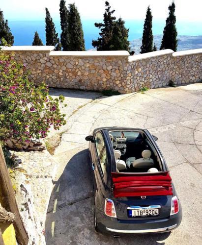 Santorini Car Rental - Prophet Elias Santorini