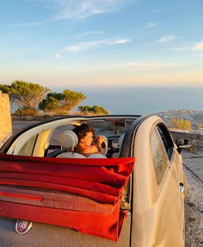 Prophet Elias Santorini, Car Rental with Blue Island Rental
